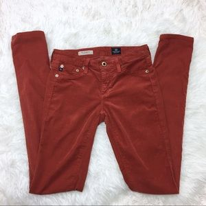 AG The Legging Super Skinny Corduroy Pants Size 25